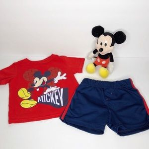 DISNEY BABY Mickey Mouse Outfit Baby Boy 12M